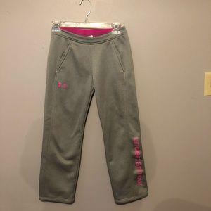 Girls Under Armour Sweat Pants